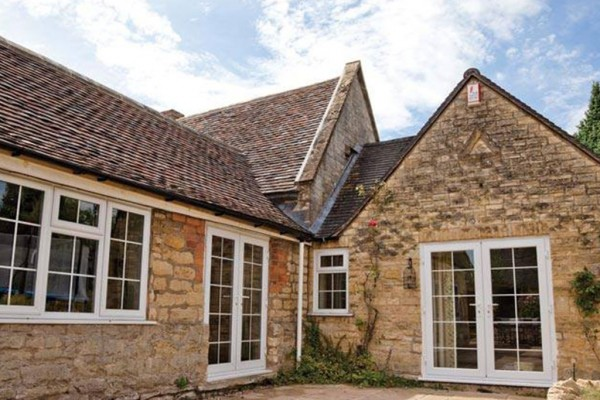uPVC Windows and Doors on Oxfordshire farm house
