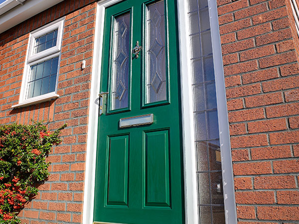 Green Composite Door in Oxford