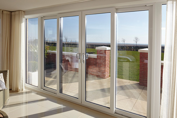 White uPVC Patio Doors Oxford