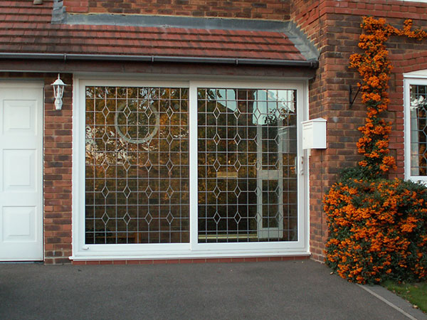 Sliding uPVC Patio Doors with leaded double glazing in Oxford