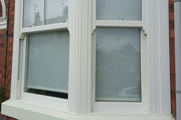 Sliding Sash Windows on a Terraced House in Oxford