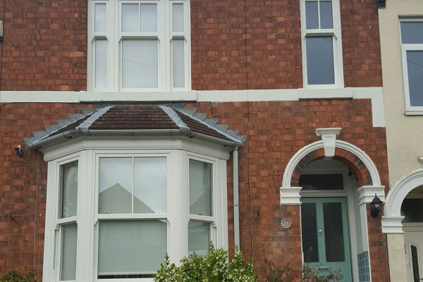 Terraced House with Double Glazing Sliding Sash Windows in Oxford