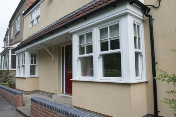 House in Oxford with white Sliding Sash Windows