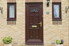 uPVC door installation in Oxfordshire by Isis Windows