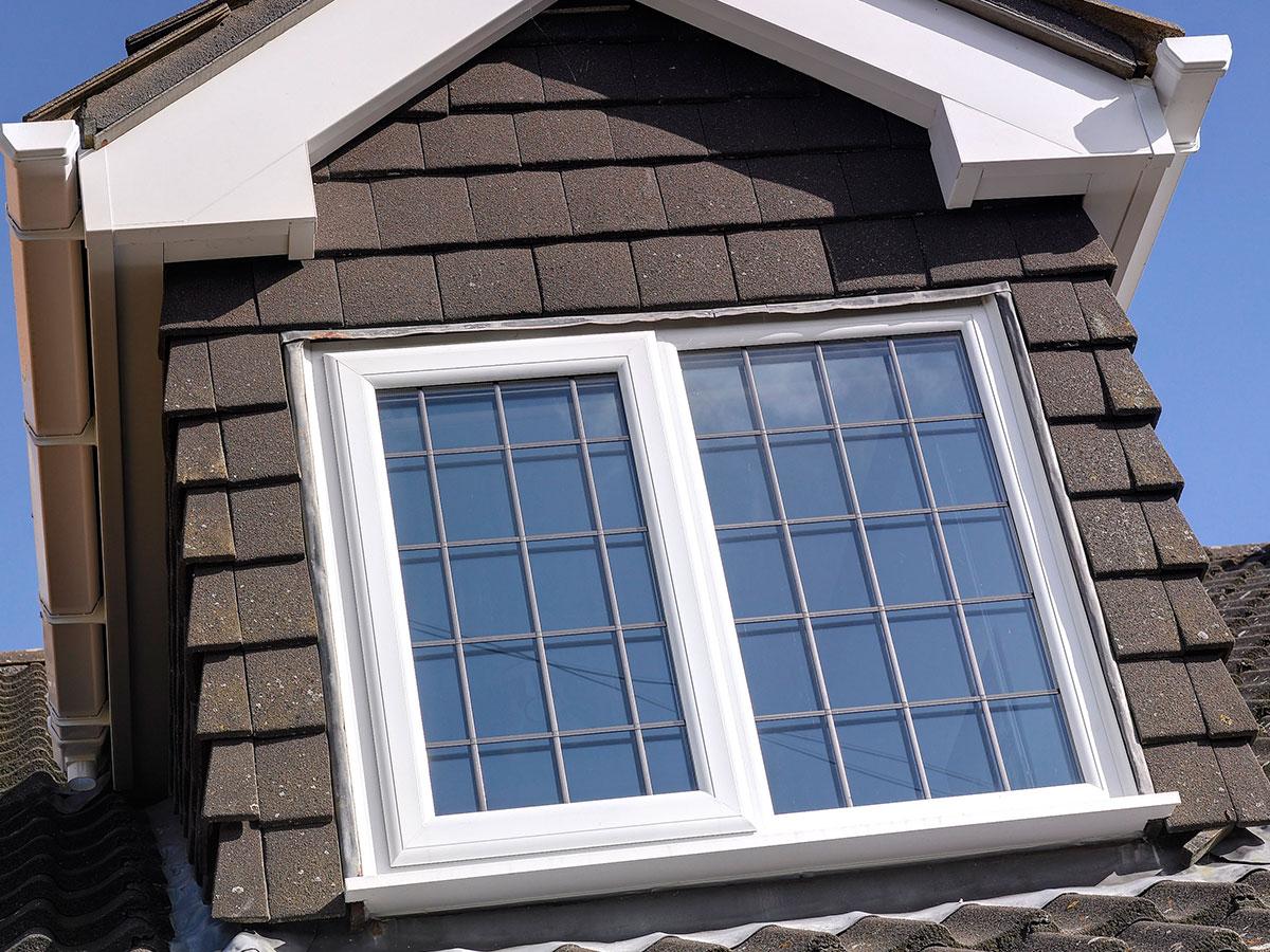 uPVC Casement Windows on Loft Room Window Oxford