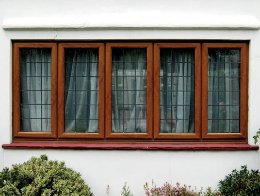 uPVC Timber Windows with leaded bars Oxford